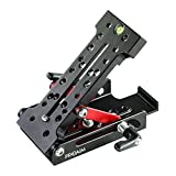 Proaim Multi-Angle Levelling Wedge Plate (P-MWP) | Adjustable Camera Leveling Base Plate | Tripod Mounting Plate