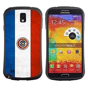 Suave TPU GEL Carcasa Funda Silicona Blando Estuche Caso de protección (para) Samsung Note 3 / CECELL Phone case / / National Flag Nation Country Paraguay /