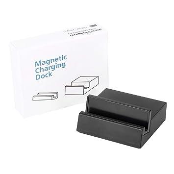 HIPENGYANBAIHU Negro DK39 Cargador magnético Base de Carga ...