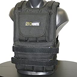 ZFOsports® - 60LBS ADJUSTABLE WEIGHTED VEST