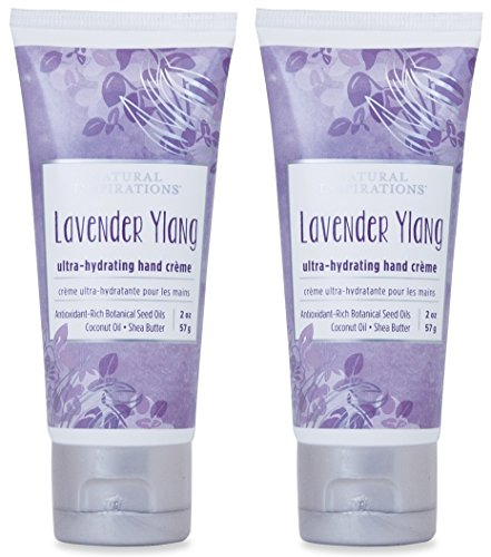 Natural Inspirations Ultra Hydrating Hand Creme 2 Piece Gift Set - Lavender Ylang