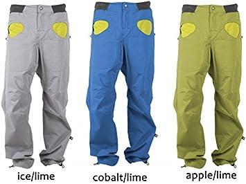 E9 Rondo Story Men – Pantalones de escalada, cobalt/lime ...