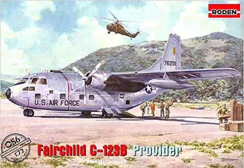 Usaf Aircraft Provider - Roden Fairchild C-123B Provider Building Kit