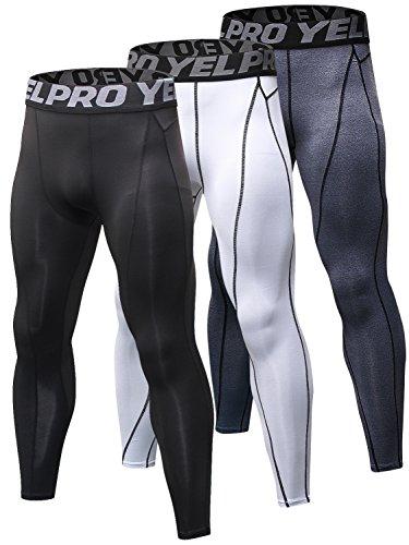 Yuerlian Men's Compression Pants
