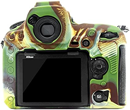 XulilinQ Camera Case Easy Silicone Protective Case for Nikon D850 Color : Color1 Camouflage