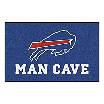 Image of Area Rugs FANMATS 14274 NFL Buffalo Bills Nylon Universal Man Cave UltiMat Rug