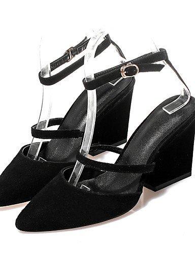 Ja Naisten Slingback Frakki Paksu Sandaalit Osapuolen Kameli Kengät aitoa Teräväkärkiset Kantapää Nahkaa Shangyi wAxq68U6