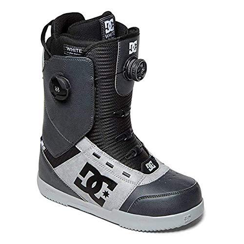 DC Men's Control Dual Boa Snowboard Boots, 7, Dark Shadow (Dc Snowboarding Boots)
