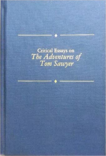 com critical essays on the adventures of tom sawyer  com critical essays on the adventures of tom sawyer critical essays on american literature 9780816173204 gary scharnhorst books