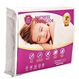Pure Protector Premium Hypoallergenic Waterproof,Breathable Crib Mattress Protector - Vinyl, PVC and Phthalate Free (27x39+5-8inch)