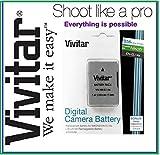 Vivitar 2300mAh EN-EL14a Battery for Nikon D5500 D5200 D5100 D3200 D3100 D5300 D3300 D3400