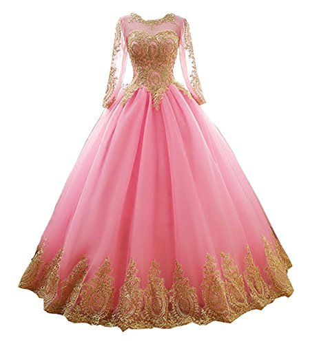 dresses for the damas in a quince - 5