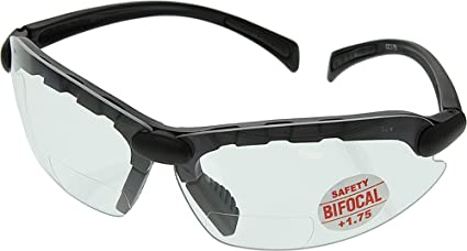 9148fa6e7f C-2000 Bifocal Safety Glasses 1.75 - CC175