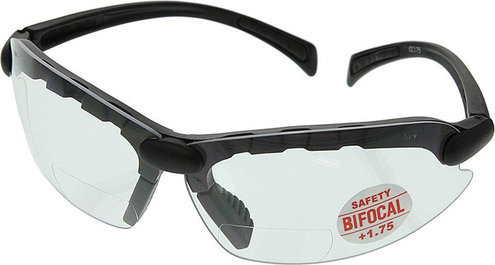 C-2000 Bifocal Safety Glasses 1.75 - CC175