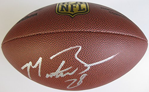Montee Ball, Denver Broncos, Wisconsin Badgers, Signed, Autographed, NFL Duke Football, a COA with the Proof Photo of Montee Signing Will Be Included