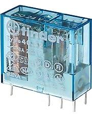 Finder serie 40 - Rele mini reticulado 5mm 2 conmutado 8a 24vdc