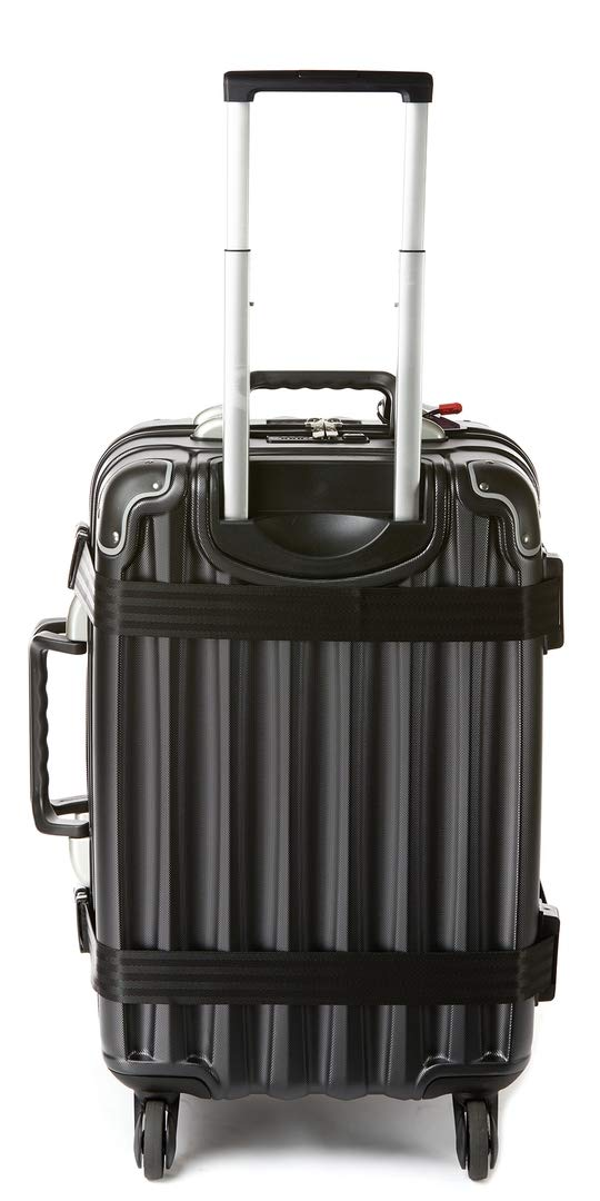 VinGardeValise - Up to 12 Bottles & All Purpose Wine Travel Suitcase (Black) by VinGardeValise (Image #8)