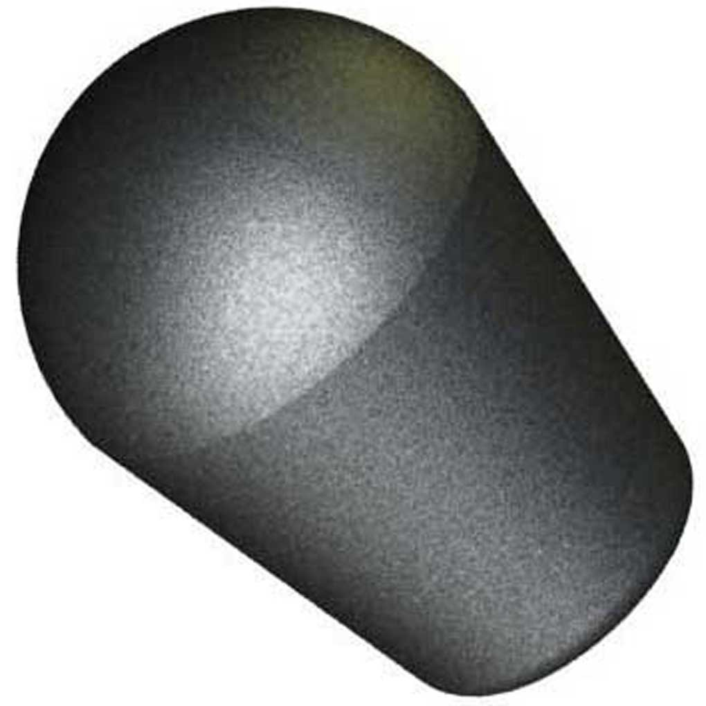 Innovative Components AN6C-S5 1.63'' Tapered Shift knob 3/8-16 steel zinc insert, black pp (Pack of 10)