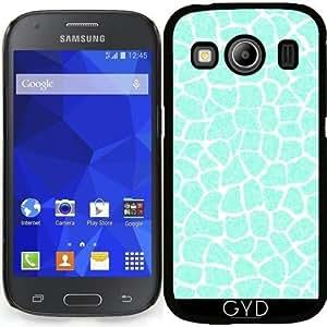Funda para Samsung Galaxy Ace 4 (SM-G357) - Azul Brillo Animal De La Impresión 03 by Aloke Design