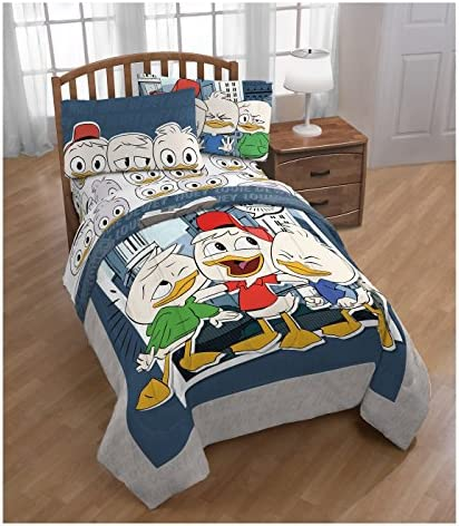 Franco DuckTalesツインComforter and Sheetセット