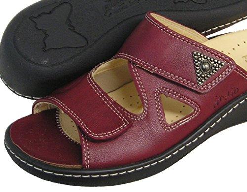 Fidelio Donna Hallux Fabia Borsite Sandalo Diapositiva A Rilievo 33709 (bordo)