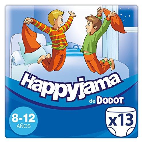 Dodot Happyjama - Pañales para niñas de 8-12 años, tipo ropa interior absorbente, 13 unidades: Amazon.es: Salud y cuidado personal