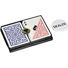 Copag Poker Size Plastic Playing Cards and Dealer Kit