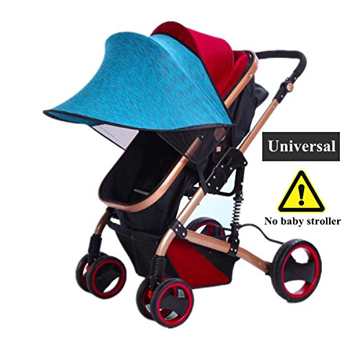 Stroller Cover Sun Canopy Extender Car Seat Shade For Baby Strollers Pushchairs Prams And Buggies