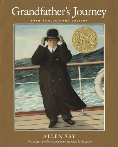 Grandfather's Journey 20th Anniversary by Say, Allen (2013) Hardcover