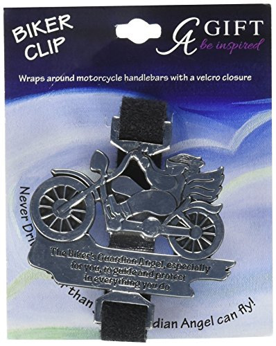 Cathedral Art BC01 Biker's Guardian Angel Bike Clip, 2-1/4-Inch