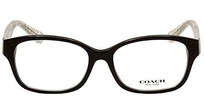89e8a3af2d6 Amazon.com  Eyeglasses Coach HC 6049 F 5151 BLACK CRYSTAL  Shoes