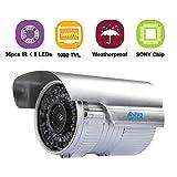 JOOAN 510MRB-4 Professional 1080TVL Analog Camera 36 IR LEDs CCTV Camera Day/Night Waterproof Security System