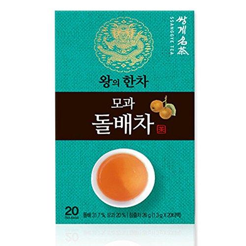Korean Organic Ssanggye Tea Premium [ Wild Pear Tea ] with Quince Tea Ginger Tea Fermented Green Tea