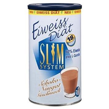 Slim System Diät Shake 450 G Sahne Vanille Amazonde Drogerie