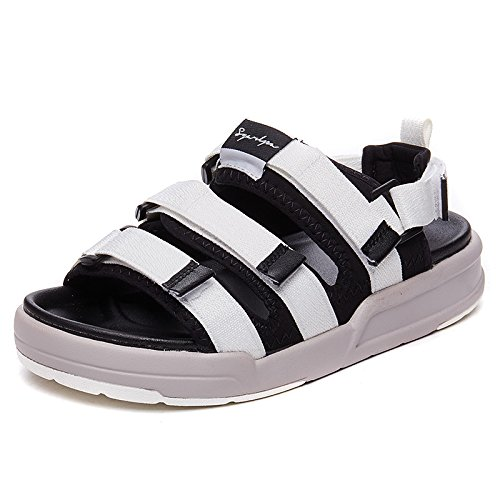 NGRDX&G Sandalias Con Plataforma Mujer Sandalias Y Zapatillas Zapatos De Mujer, Blanco, 37 37|White