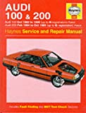 Audi 100 1982-90 and 200 1984-89 Service and Repair Manual (Haynes Service and Repair Manuals) by John S. Mead (1996-01-15)