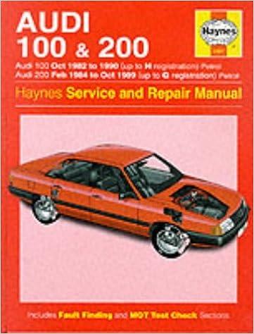 Audi 100 1982-90 and 200 1984-89 Service and Repair Manual Haynes Service and Repair Manuals: Amazon.es: John S. Mead: Libros en idiomas extranjeros