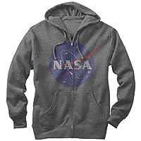 NASA Mens Graphic Lightweight Zip Hoodie