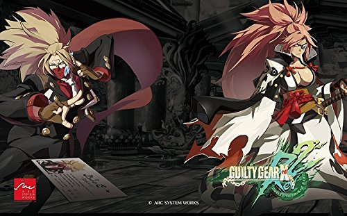 (GUILTY GEAR Xrd REV 2 authorized special faceplate Fight Stick Art for Mad Catz TE2 and TE2+)