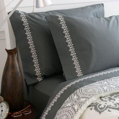 Amy Butler Bucharest 400 Thread Count Organic Sheet Set in Twin/Twin XL