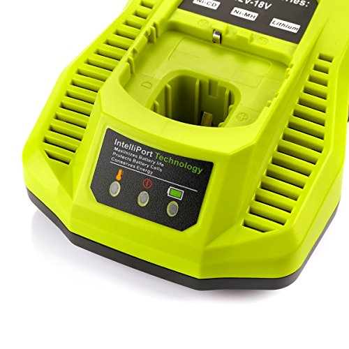 Powilling P117 Dual Chemistry IntelliPort Charger Li-ion & Ni-cad Ni-Mh Battery Charger 12V MAX and 18V MAX For Ryobi ONE Plus by Powilling (Image #2)