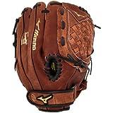 Mizuno 美津浓 GPP1150Y1 青年棒球手套,11.5英寸(约29厘米), 右手投