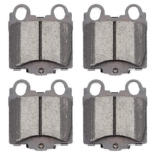 (Brake Pads,ECCPP 4pcs Rear Ceramic Disc Brake Pads Kits for 1998-2005 Lexus GS300,1998-2000 Lexus GS400,2001-2005 Lexus GS430,2001-2005 Lexus IS300,2002-2010 Lexus SC430)