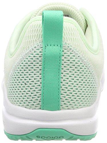 Metallic White De Arianna Adidas Femme silver Cloudfoam Chaussures aero Fitness footwear Vert Green vq7wUdvxtr