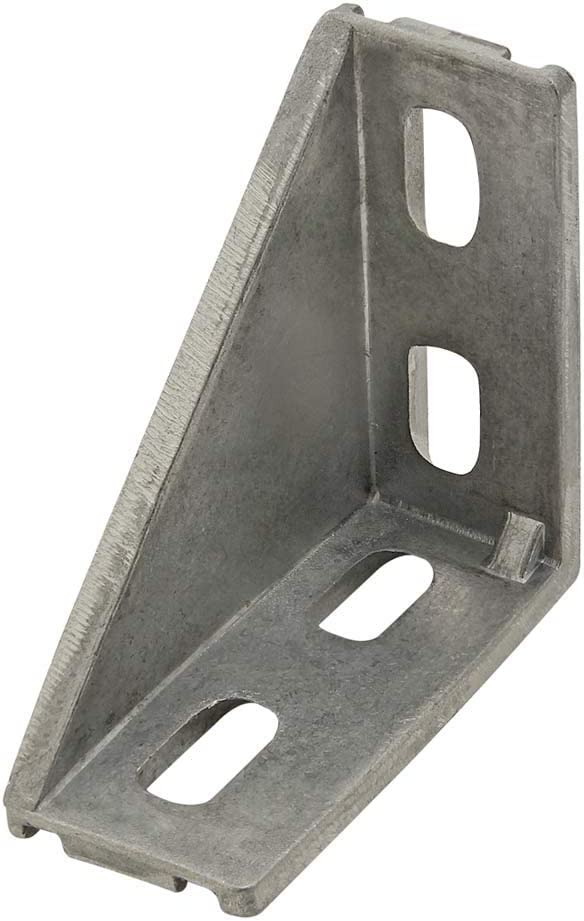 20 Series 4 Hole Inside Corner Bracket with Tabs Single Support 4 Pack 14057
