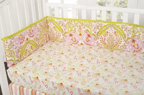 Dena Moroccan Garden All Around Crib Bumper Baby Bedding
