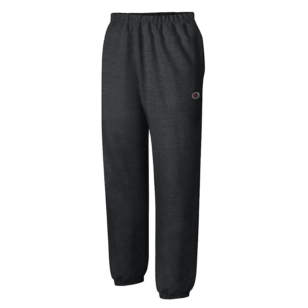 Champion PANTS メンズ B06ZZLNHM7 Medium|ブラック ブラック Medium