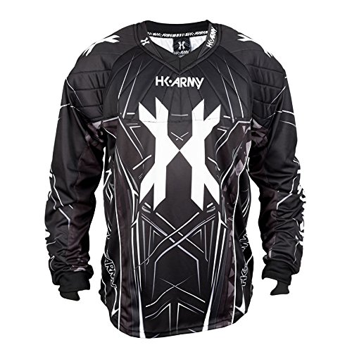 HK Army HSTL Line Jersey (Black / Grey, Small)