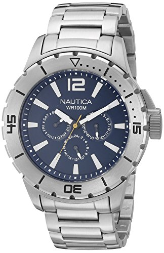 Nautica Men's N19568G NSR 05 Sporty Bracelet Watch