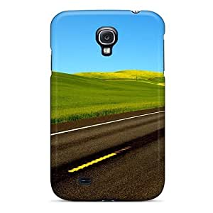 Awesome Case Cover/galaxy S4 Defender Case Cover(highway By Greenfield) by supermalls